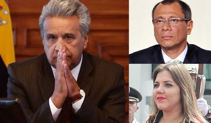 Tercer vicepresidente para Moreno