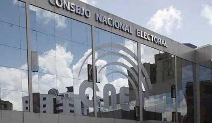 CNE, Elecciones Seccionales, Ecuador,
