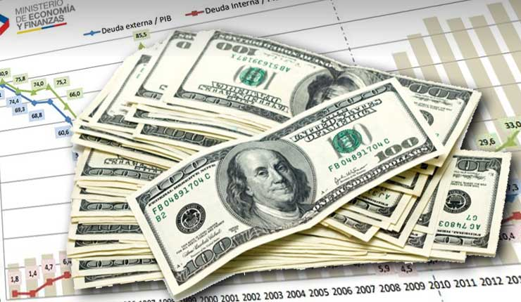 Deuda pública crece 14% en gobierno de Moreno