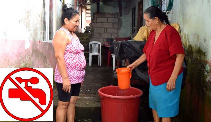 La falta de agua en Santo Domingo afecta a 4 mil familias