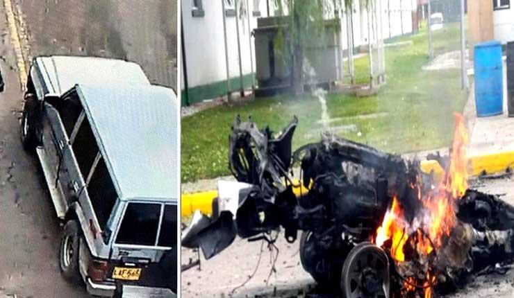 Autoridades colombianas atribuyen explosión a ELN
