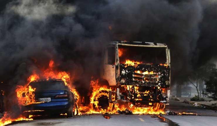 Continua violencia en Brasil