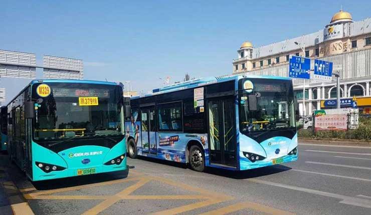 Centro de abastecimiento para buses eléctricos se instalará en parque Samanes de Guayaquil