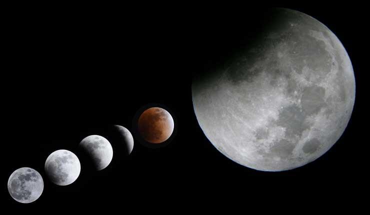 Eclipse total de luna será visto en Ecuador
