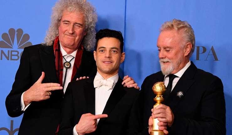 Bohemian Rhapsody junto a Green Book, fueron los grandes ganadores de los premios Globo de Oro
