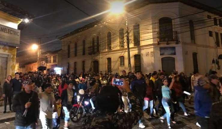 Cacería de venezolanos en las calles de Ibarra