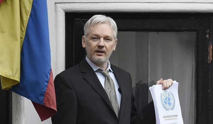 Julian Assange pide intervención de la CIDH contra Estados Unidos y Ecuador