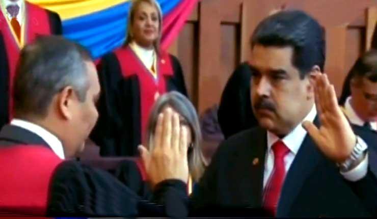 Presidente Maduro: Cumpliré y haré cumplir todos los mandatos de la Constitución