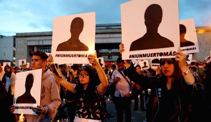 Colombia: 172 líderes sociales fueron asesinados en 2018