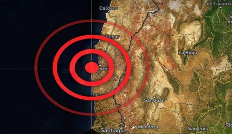 Sismo magnitud 6,7 remece norte chileno y deja 2 fallecidos