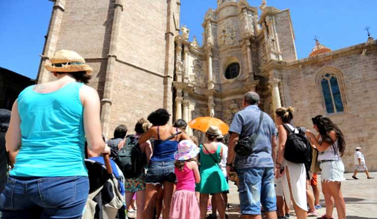 España batió un nuevo récord de turistas internacionales en 2018