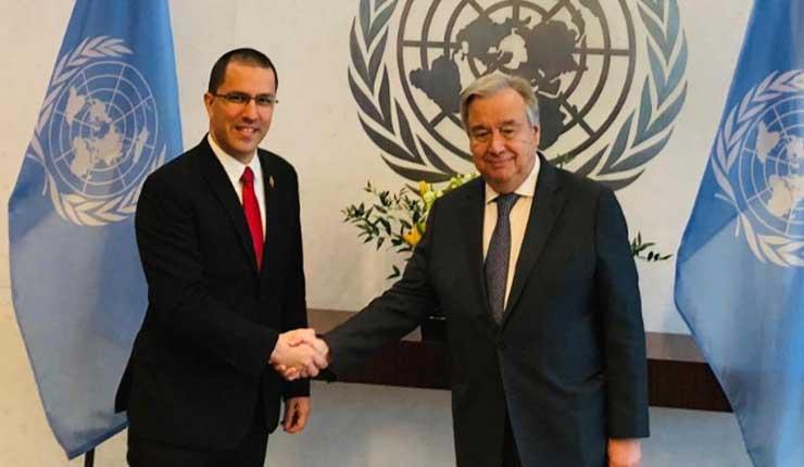 Venezuela estrecha lazos de cooperación conjunta con la ONU y advierte amenaza de golpe de estado impulsado por EEUU