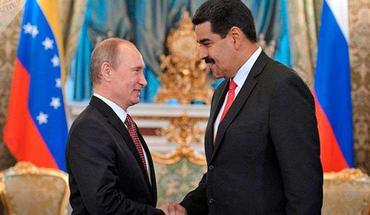 Rusia expresa su apoyo al gobierno legítimo de Venezuela