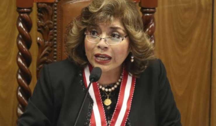 Nueva Fiscal general de Perú promete lucha anticorrupción
