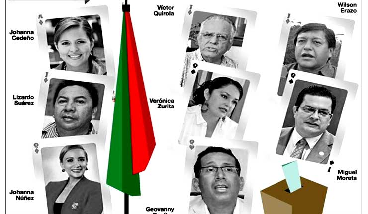 Candidatos se alistan para campaña electoral en Santo Domingo