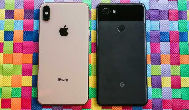 Google se burla de la cámara del iPhoneX