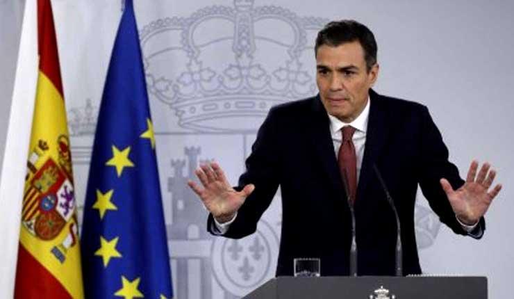 Pedro Sánchez considera anticipar elecciones para el 14 de abril