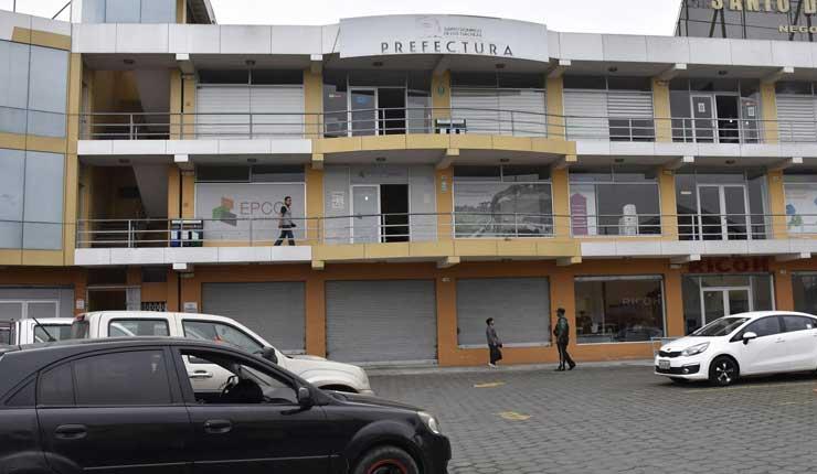 Prefectura, Santo Domingo, Ampliación de Vías,