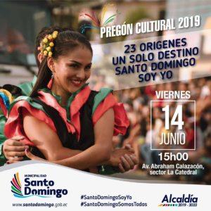 Pregón de Fiestas, Santo Domingo,