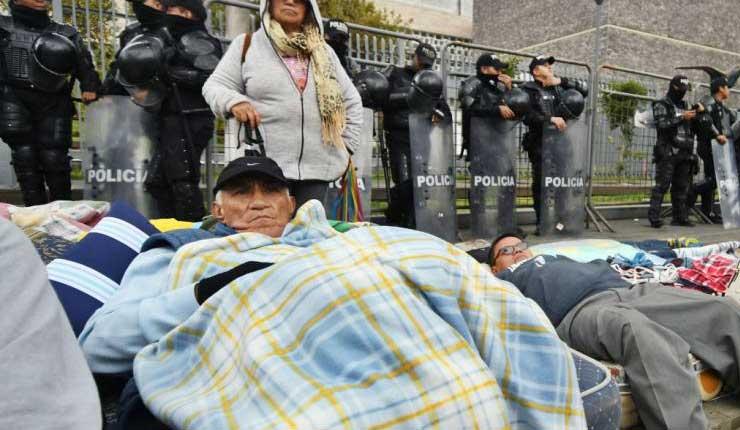 Maestros Jubilados, Ecuador, Asamblea Nacional,