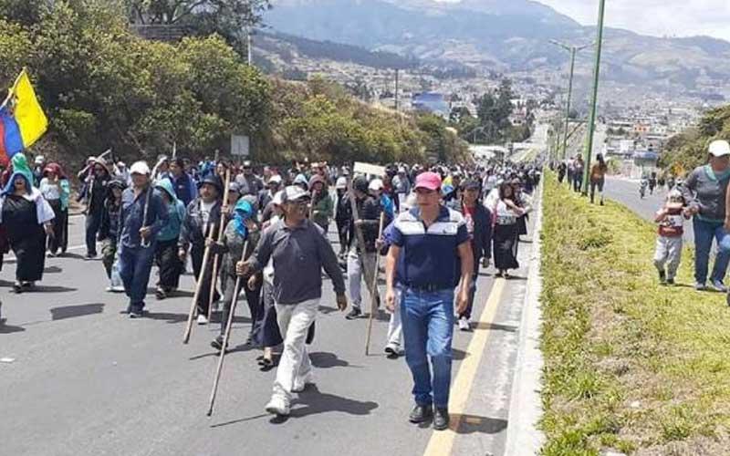 Indigenas, Ecuador, Protestas, Lenin Moreno,