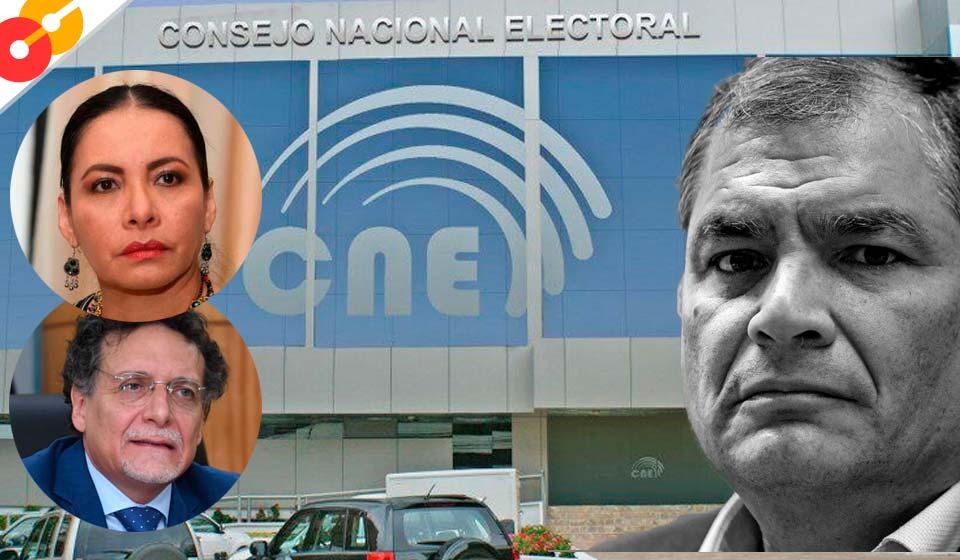Correa califica de fraude electoral