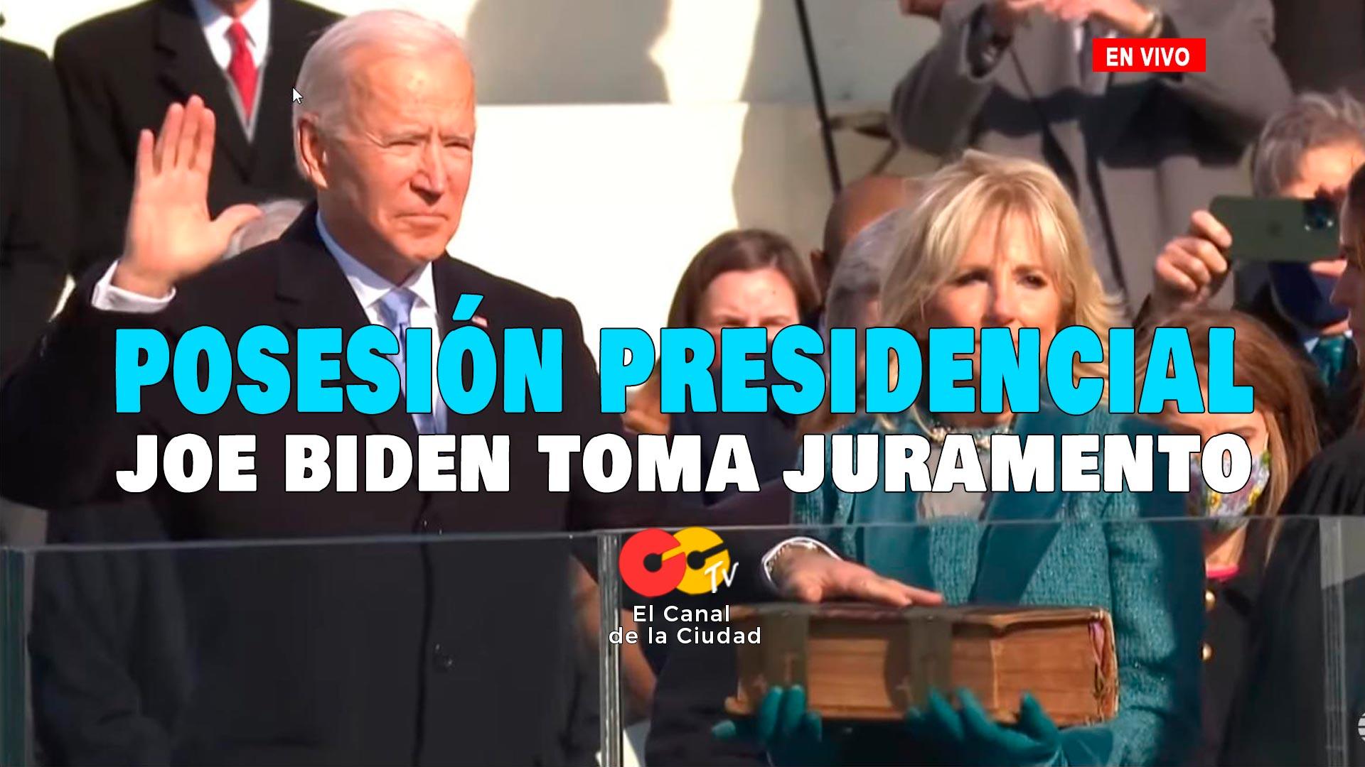 JOe Biden en vivo