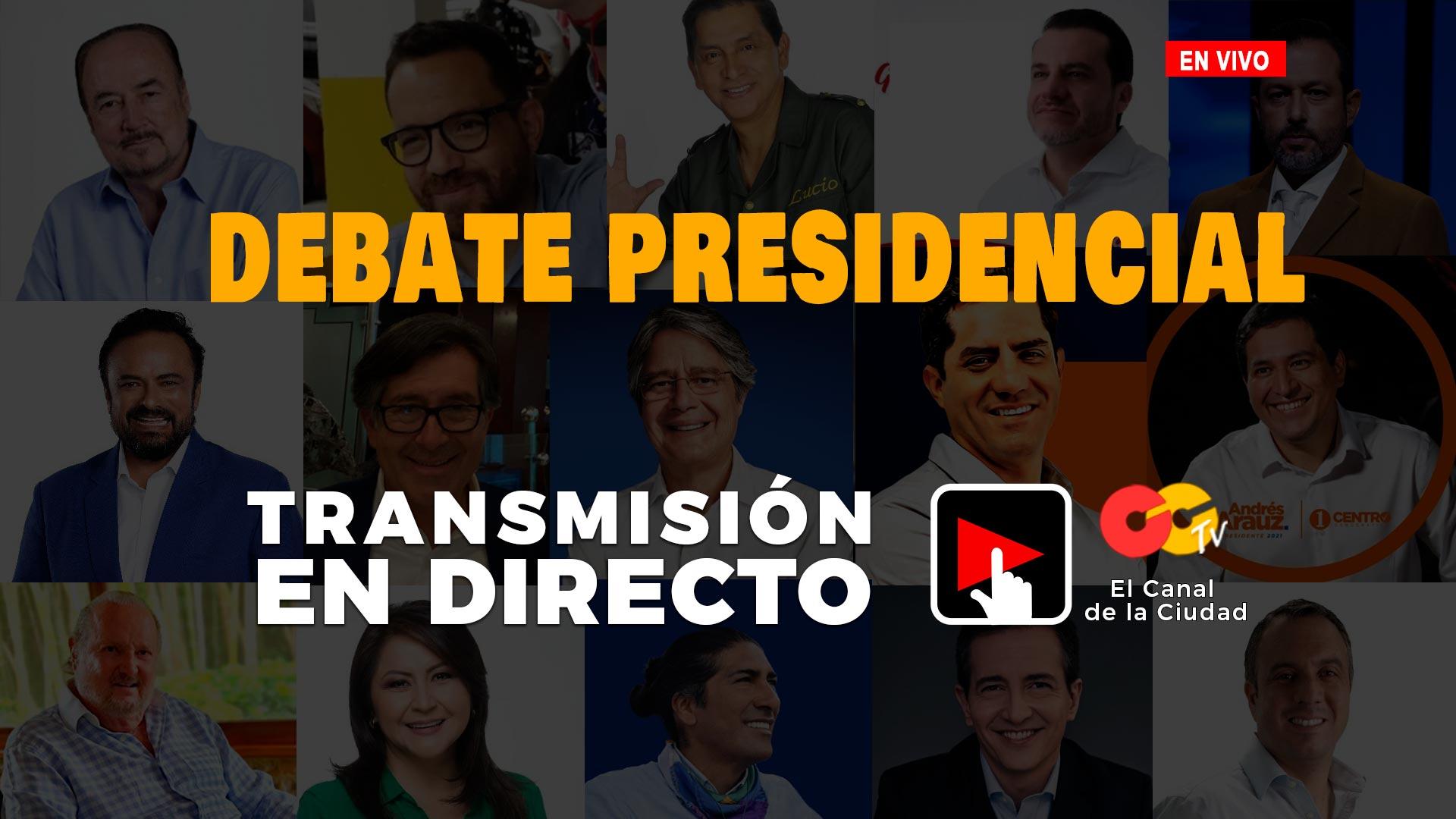 Debate Presidencial CCTV