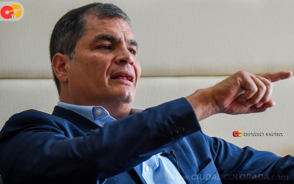 Rafael Correa Elecciones 2021