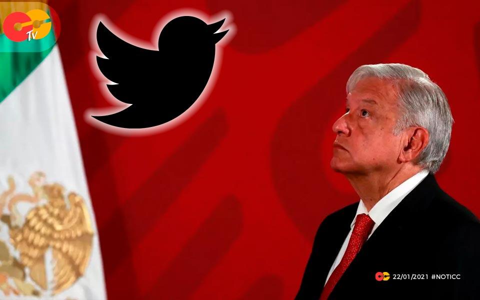 Twitter cierra cuentas en Mexico