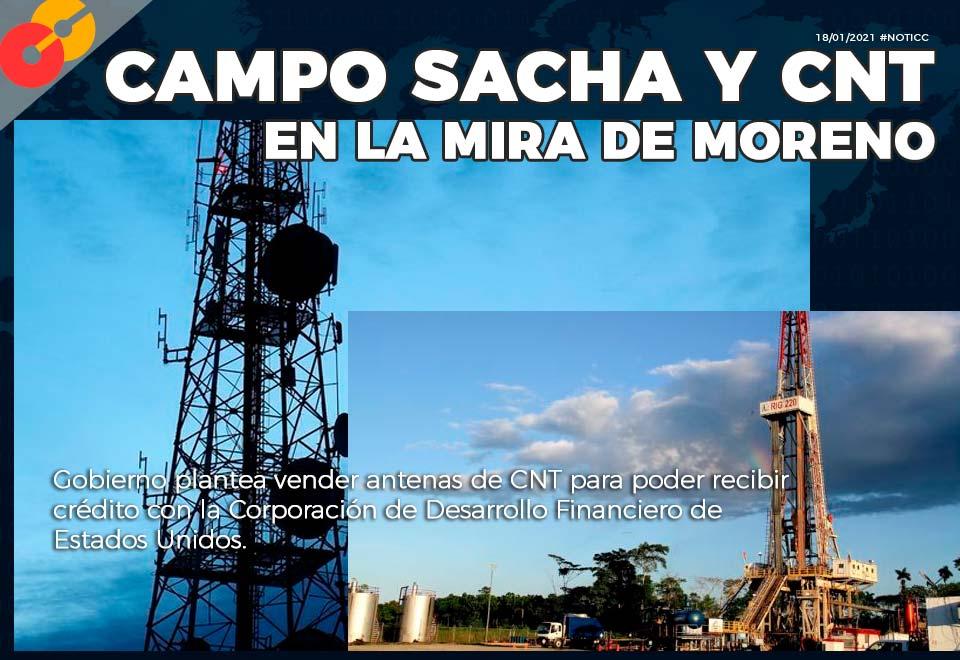Campo Sacha y CNT