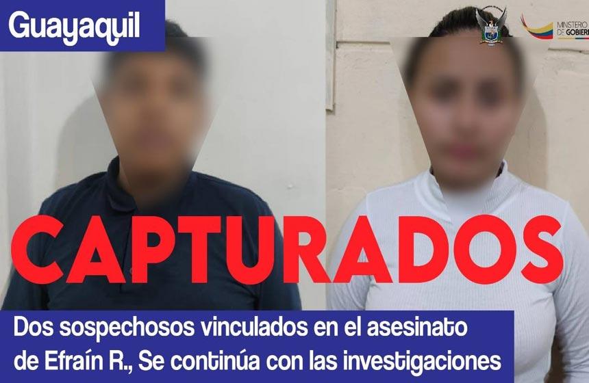 Asesinos Efraín Ruales