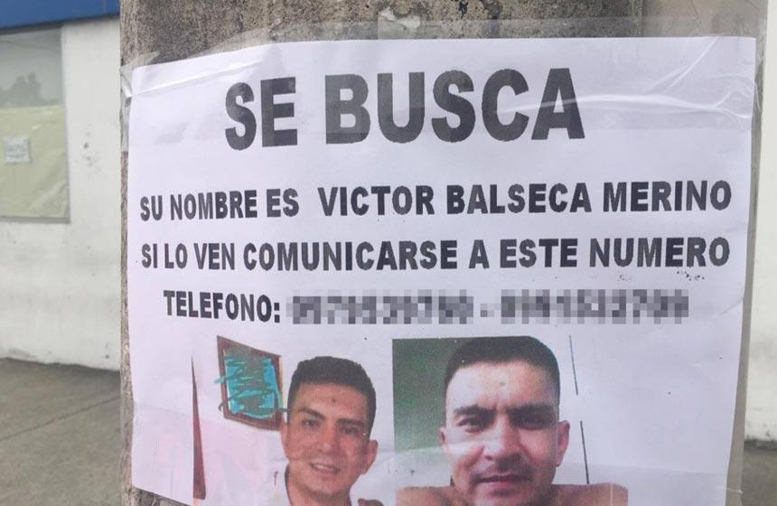 Hombre Desaparecido