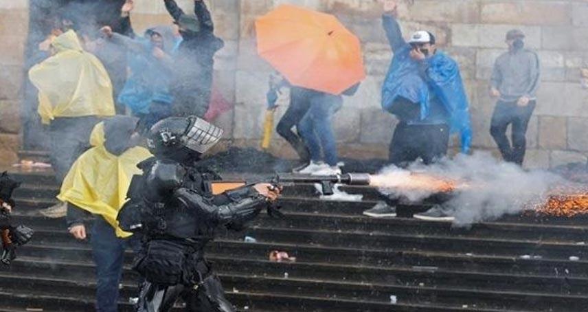 Represión Colombia