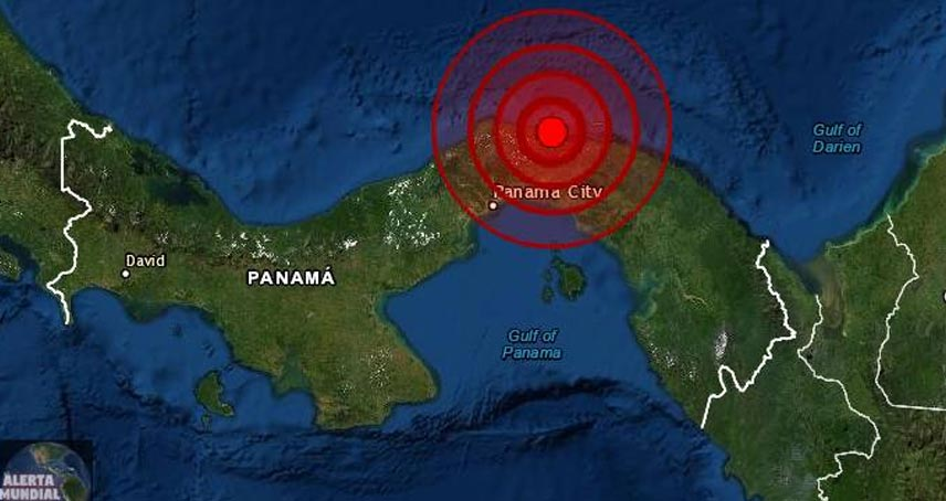 Temblor Panama