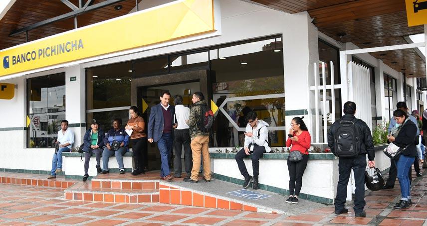 Banco Pichincha Caída Sistema